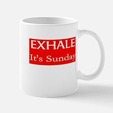 EXHALE It's Sunday Mugs