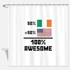 Awesome Irish American Shower Curtain