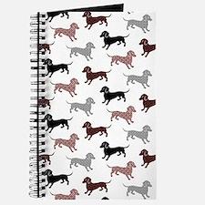 Cute Dachshund Journal