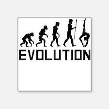 Gymnast Evolution Sticker