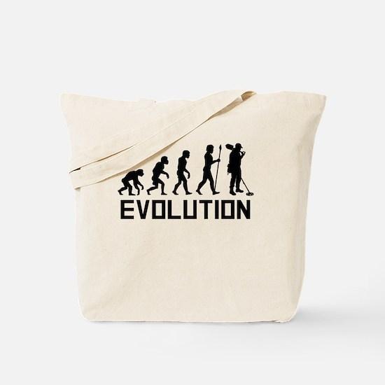 Metal Detecting Evolution Tote Bag