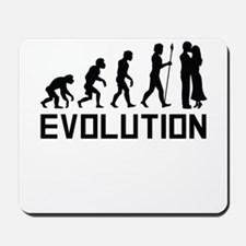 Couple Kissing Evolution Mousepad