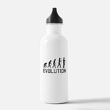 Oboe Player Evolution Water Bottle