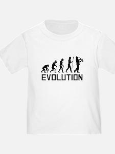 Saxophone Player Evolution T-Shirt