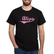Aliya Vintage (Pink) T-Shirt