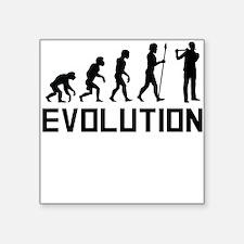 Flautist Evolution Sticker
