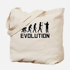 Flautist Evolution Tote Bag