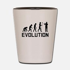 Flautist Evolution Shot Glass