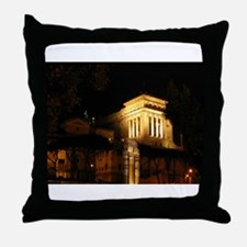 foro di cesare Throw Pillow