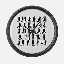 Funny Samba Large Wall Clock