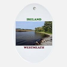 Lough Ree at Portaneena Oval Ornament