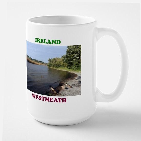 Lough Ree at Portaneena Large Mug