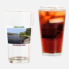 Lough Ree at Portaneena Drinking Glass