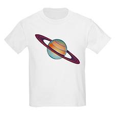 Planet Saturn Kids T-Shirt