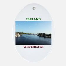 River Shannon Oval Ornament