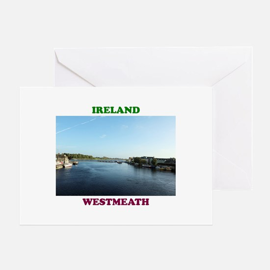 River Shannon Greeting Card