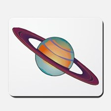 Planet Saturn Mousepad