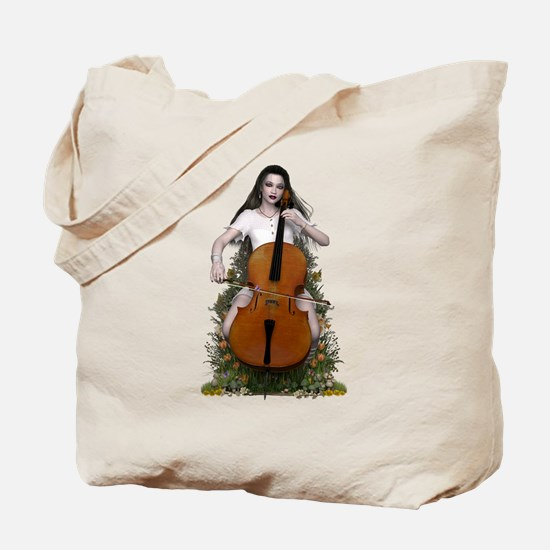 Sonata ~ Cello Melody Tote Bag