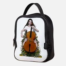 Sonata ~ Cello Melody Neoprene Lunch Bag
