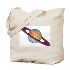 Planet Saturn Tote Bag