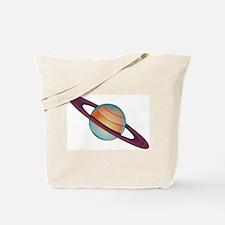 Planet Saturn Tote Bag