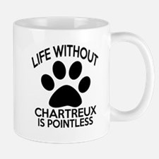 Life Without Chartreux Cat Designs Small Small Mug