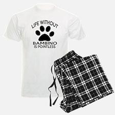 Life Without Bambino Cat Desi Pajamas