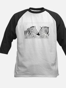 Zebra Pair - Richard Costin Wildli Baseball Jersey