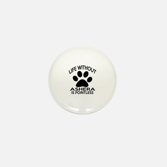 Life Without Ashera Cat Designs Mini Button