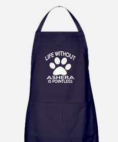 Life Without Ashera Cat Designs Apron (dark)