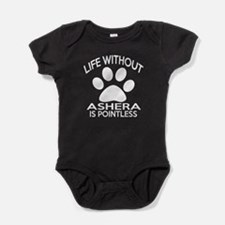Life Without Ashera Cat Designs Baby Bodysuit