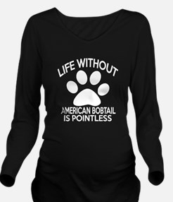 Life Without America Long Sleeve Maternity T-Shirt