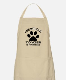 Life Without Toyger Cat Designs Apron