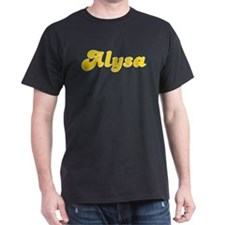 Alysa Fancy (Gold) T-Shirt