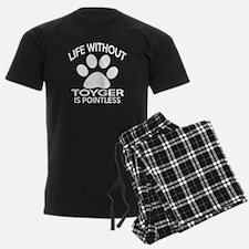 Life Without Toyger Cat Design Pajamas