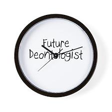 Future Deontologist Wall Clock