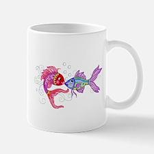 Fish romance Mugs