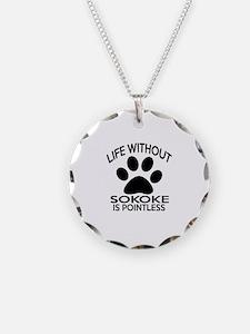 Life Without Sokoke Cat Desi Necklace