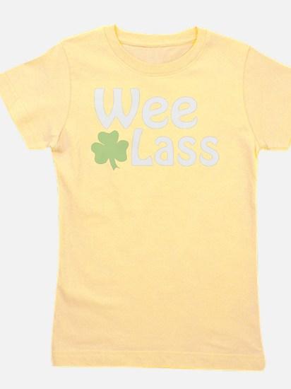 Wee Lass Shamrock T-Shirt