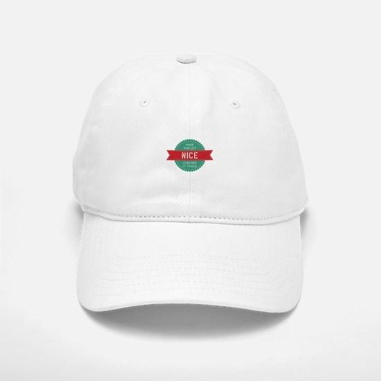 Santa's Nice List Baseball Baseball Cap