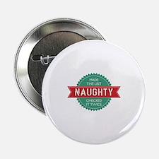 "Santa's Naughty List 2.25"" Button"