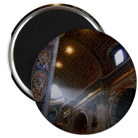 st. peter's basilica Magnet