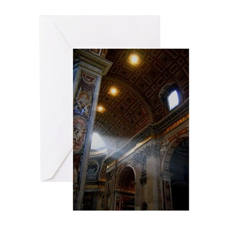 st. peter's basilica Greeting Cards (Pk of 10)