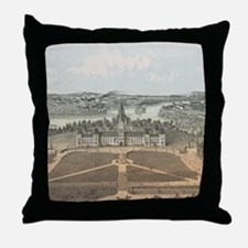 Vintage Ottawa Government Buildings M Throw Pillow
