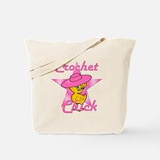 Crochet Chick #8 Tote Bag