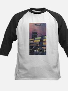 Vintage Airport Baseball Jersey