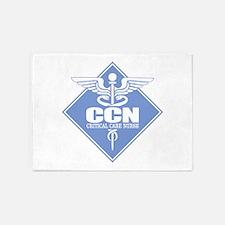 Critical Care Nurse 5'x7'Area Rug