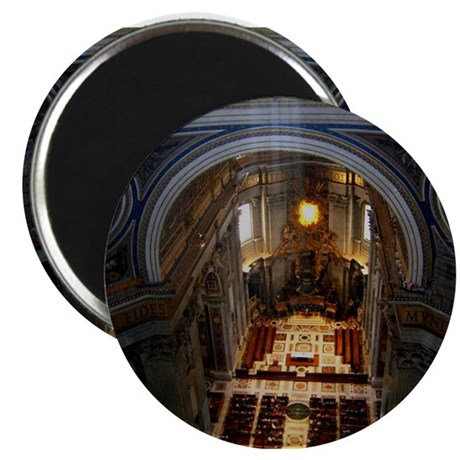 st. peter's basilica Magnet