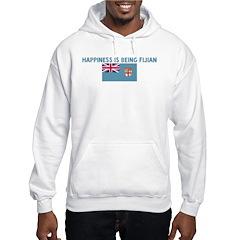 HAPPINESS IS BEING FIJIAN Hoodie
