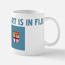 HALF MY HEART IS IN FIJI Mug